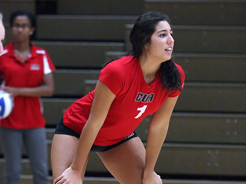 Volleyball Topped on Final Day of Gallaudet Invite