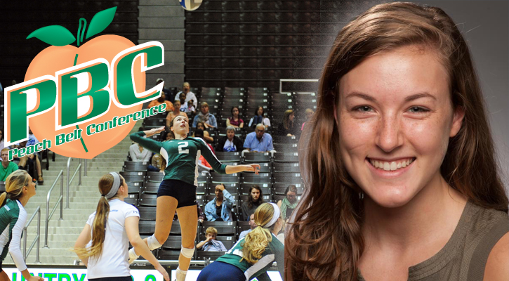 GC Volleyball's Reynolds Named PBC Freshman of the Year