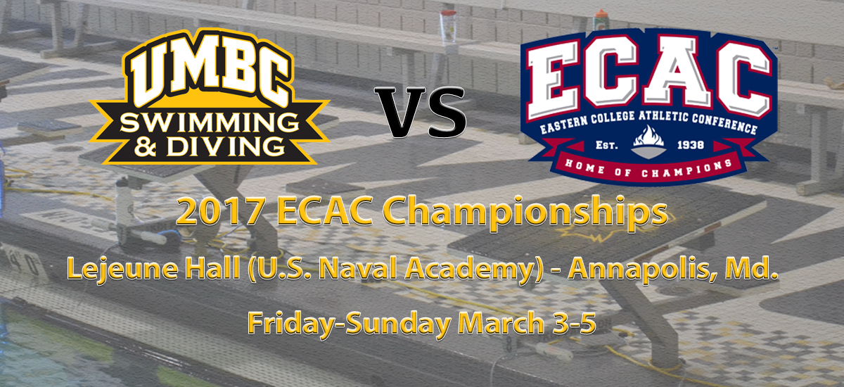 Swimming and Diving Returns to the Pool at the ECAC Championships