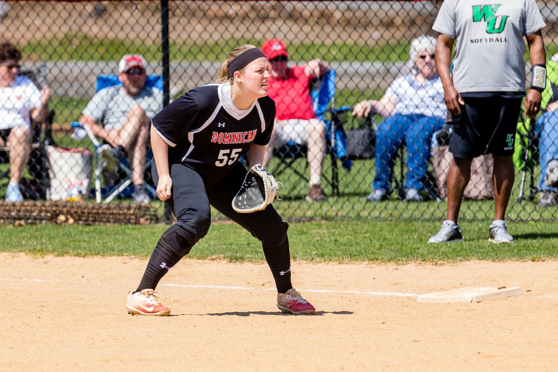 SOFTBALL OPENS CONFERENCE PLAY WITH A SWEEP OVER POST