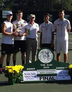 Stags Strong in Ojai, Reach Singles and Doubles Finals