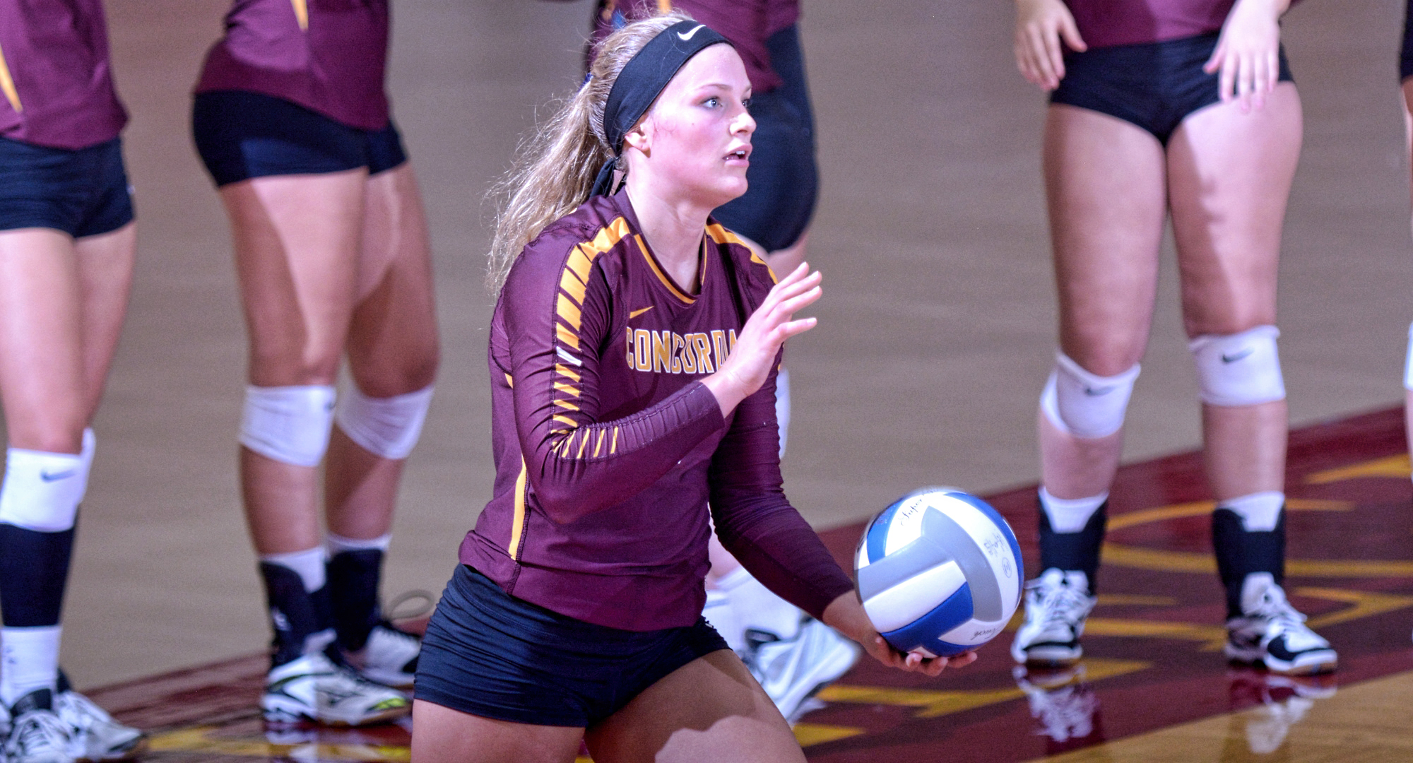 Junior Emily Friedrich had nine kills and hit .353 to lead the Cobbers at Minn.-Morris.