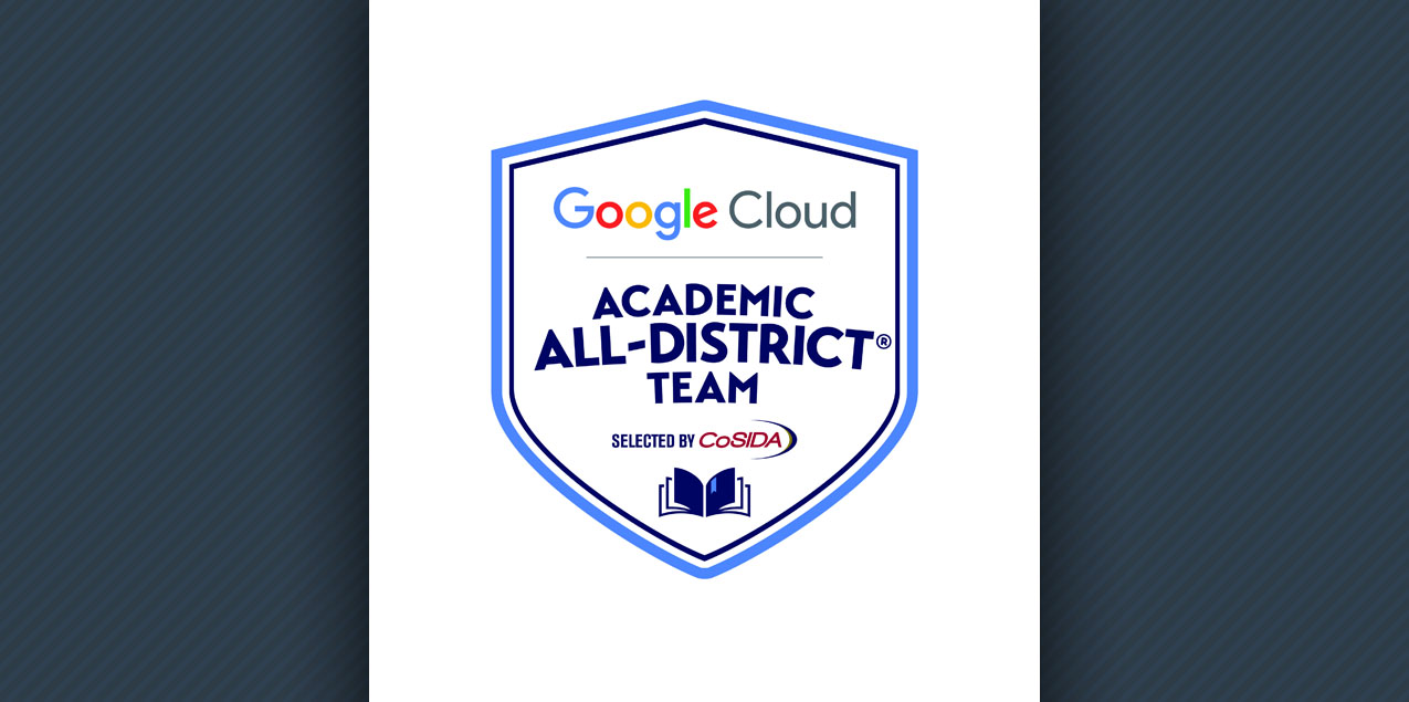 Trinity's McCullough Named to Google Cloud Academic All-District Team