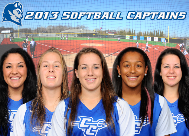 Softball Announces 2013 Captains