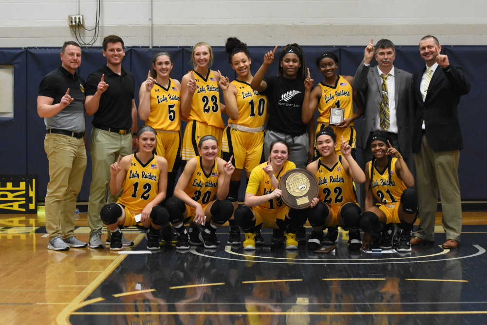 Lady Raiders win Region XVI Tournament after erasing double-digit deficit