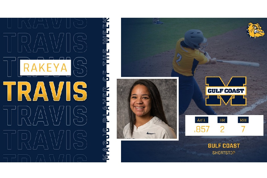 MGCCC's Travis wins MACJC Player of the Week