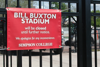 Buxton Stadium Resurfacing