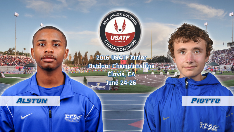 Men's Track & Field Duo to Compete at USATF Junior Outdoor Championships