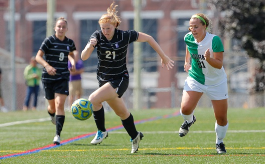 Women's Soccer Rallies Late (Again) For 11th Straight Victory