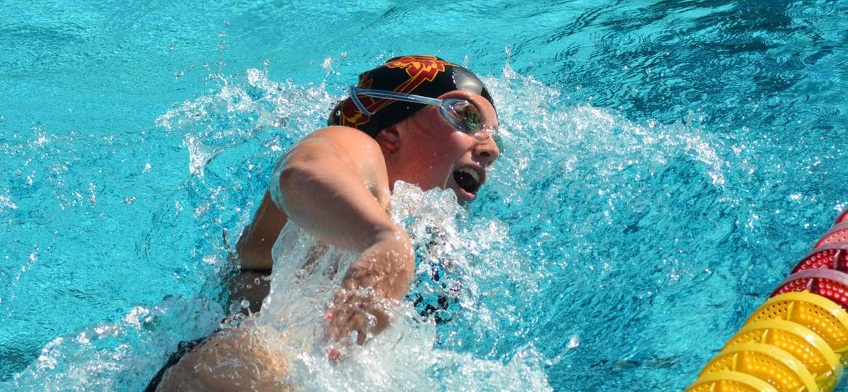 Senior Riley Hoffman will be one of 11 Athenas competing at the NCAA Championships this week