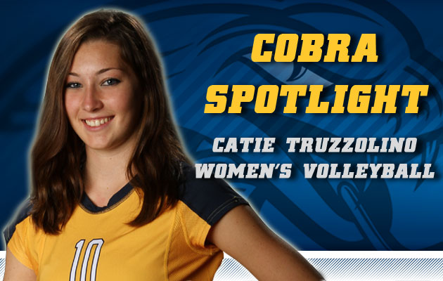 Cobra Spotlight- Catie Truzzolino, Women's Volleyball
