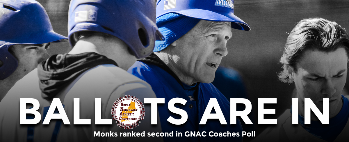 Monks Ranked 2nd in the GNAC Coaches Poll