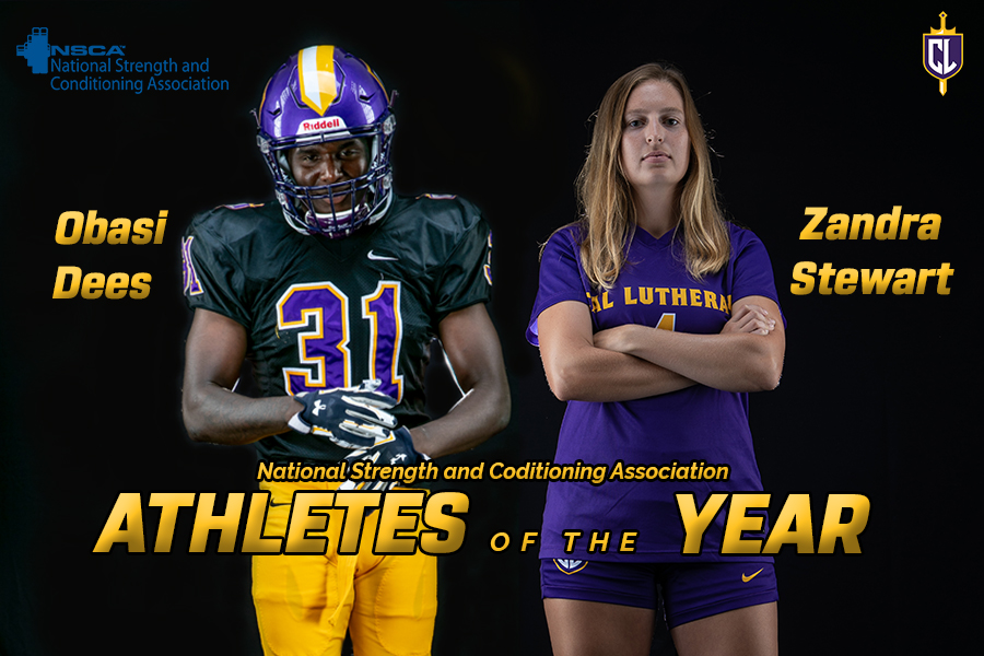 Dees, Stewart Earn All-American Strength and Conditioning Athlete of the Year