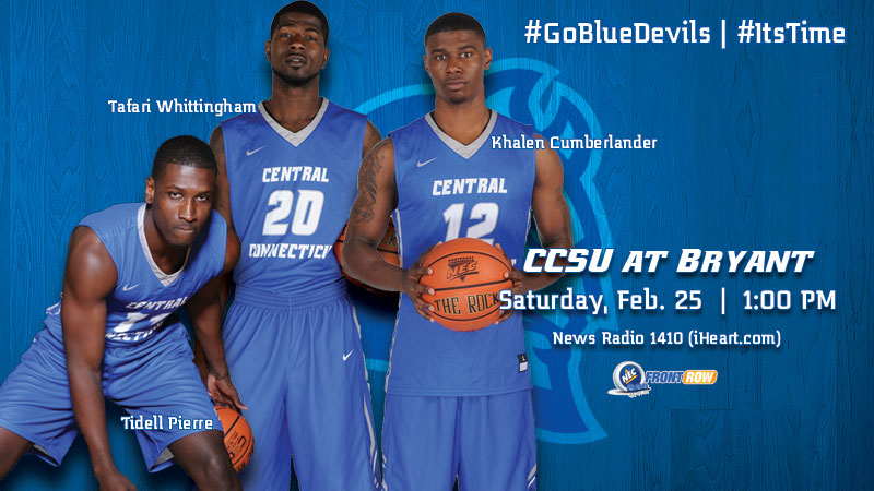 Men's Basketball Travels to Bryant for Season Finale on Saturday