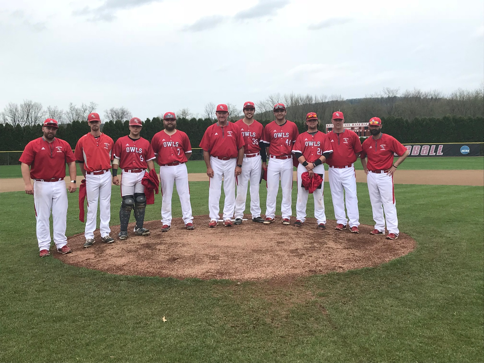 KSC Baseball Finishes Season With Senior Day Split