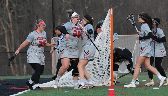 School records fall in Women's Lacrosse rout of Waynesburg