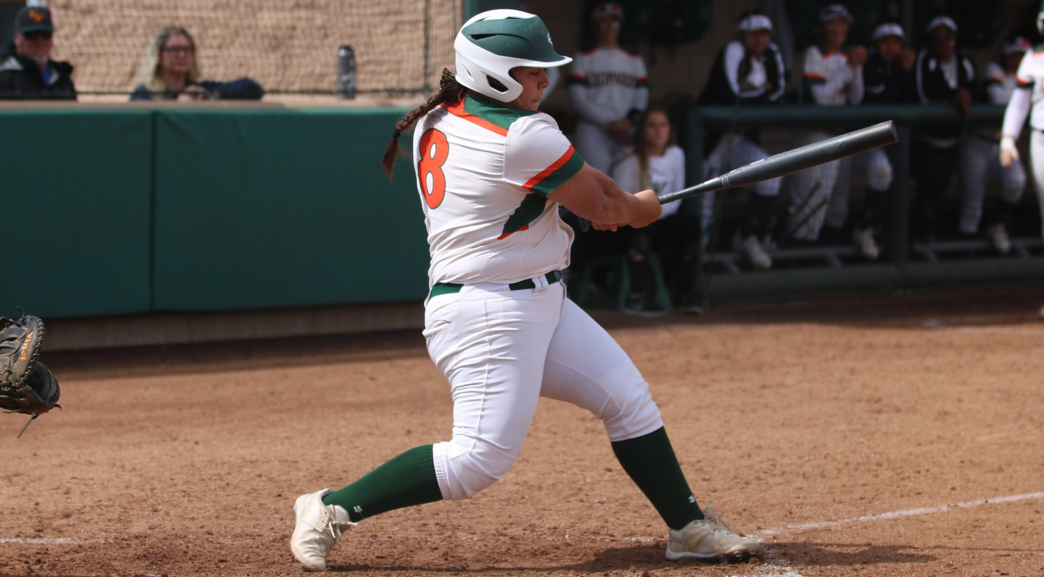 Softball splits with No. 16 Pomona-Pitzer