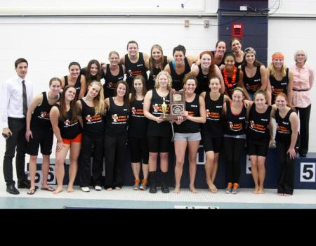 Women's Swimming & Diving wins fourth consecutive OAC Championships crown