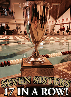 Swimming & Diving Wins 17th-Consecutive Seven Sisters Title