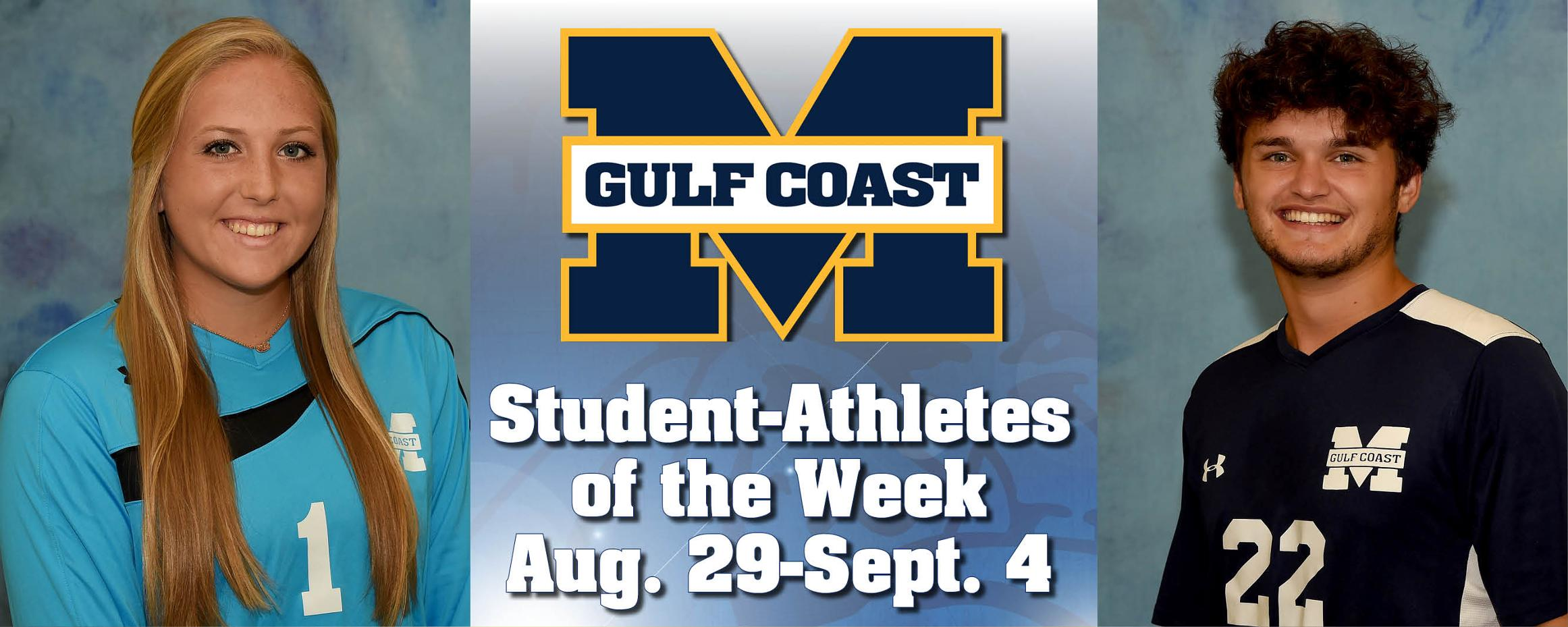 Walters, Beattie named MGCCC Student-Athletes of the Week