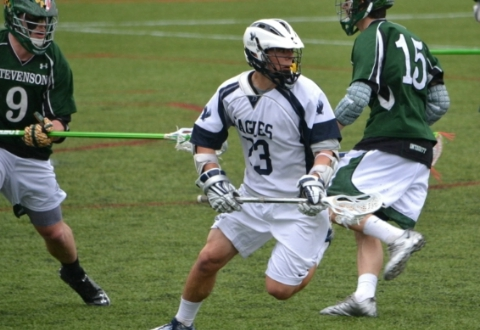 UMW Men's Lax Falls to #10 Stevenson, 13-6