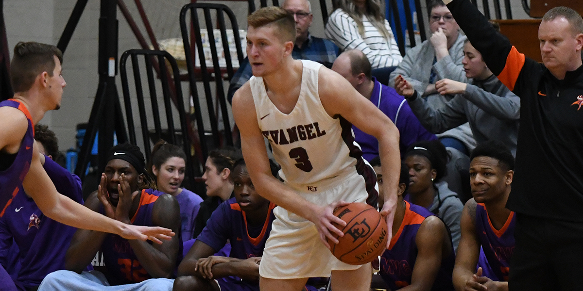 Evangel Men Dialed in for 92-88 Win at Missouri Valley