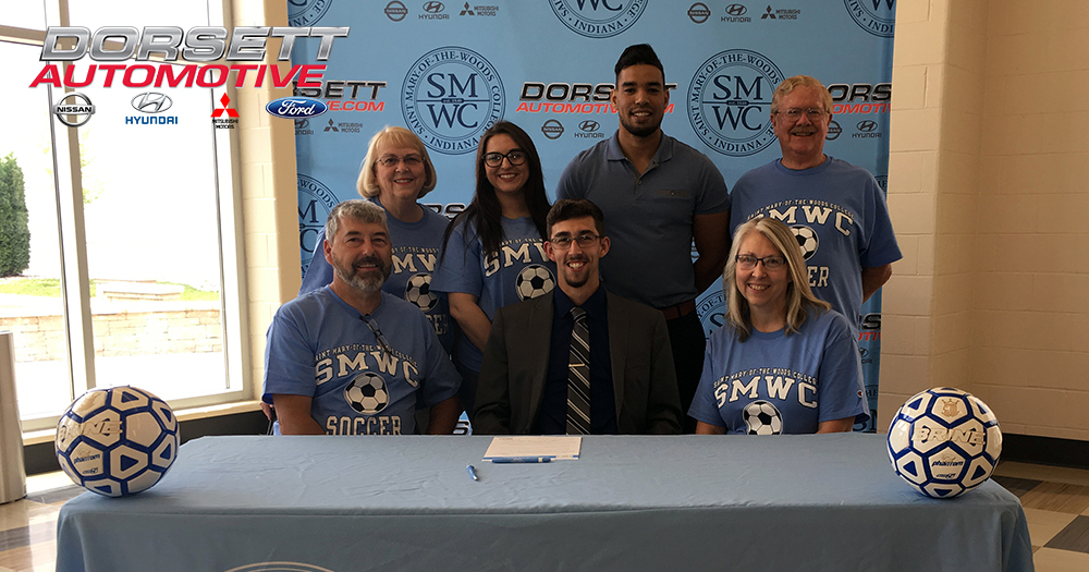 Pomeroy Men's Soccer Sign Logan Thralls