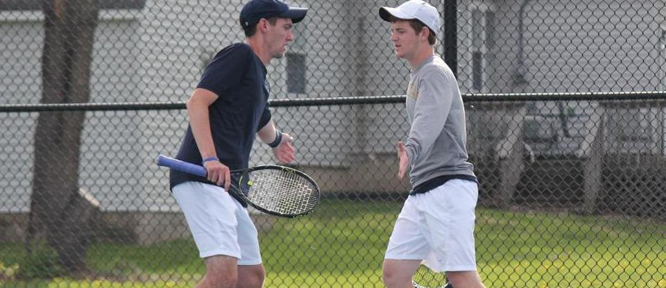 Men's Tennis Ends Season With HCAC Tournament Semifinal Loss