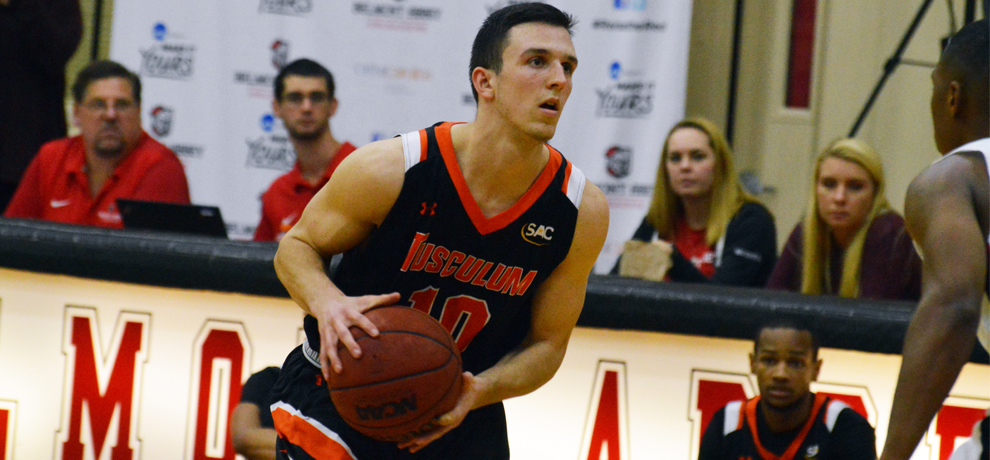 Woods pours in 27 in Tusculum's 87-73 road win at Catawba