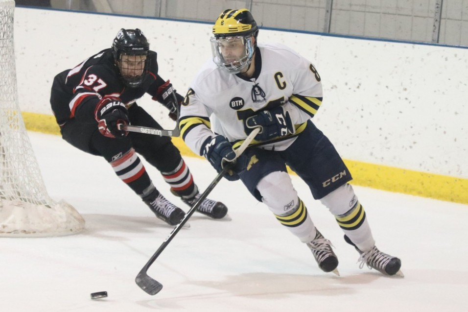 Photo for Wolverines edged by No. 1 Beavers 3-2 in weekend opener