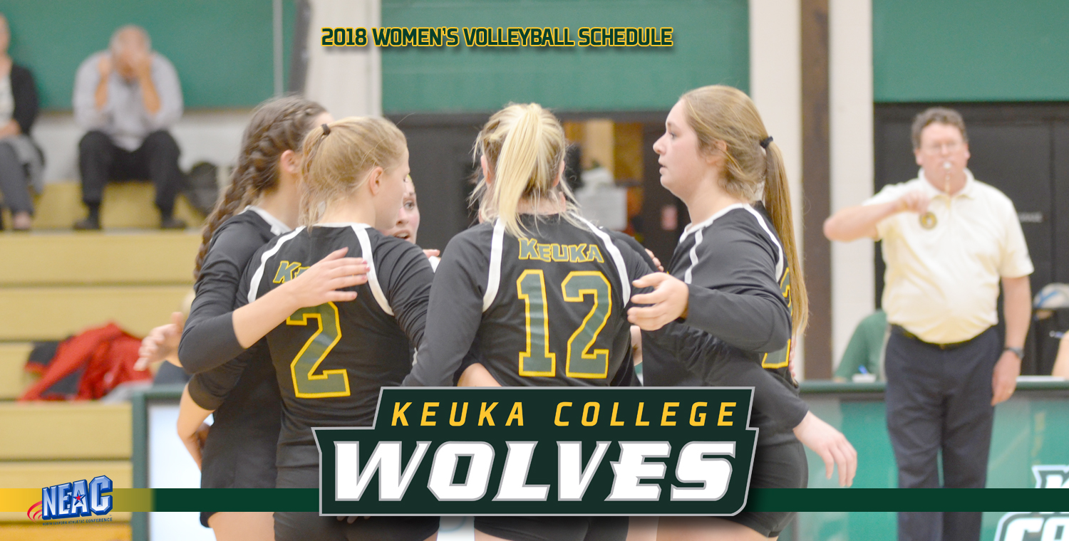 2018 Schedule Release: Women's Volleyball
