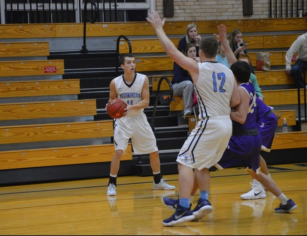 Late Comeback Not Enough for Westminster Men's Basketball