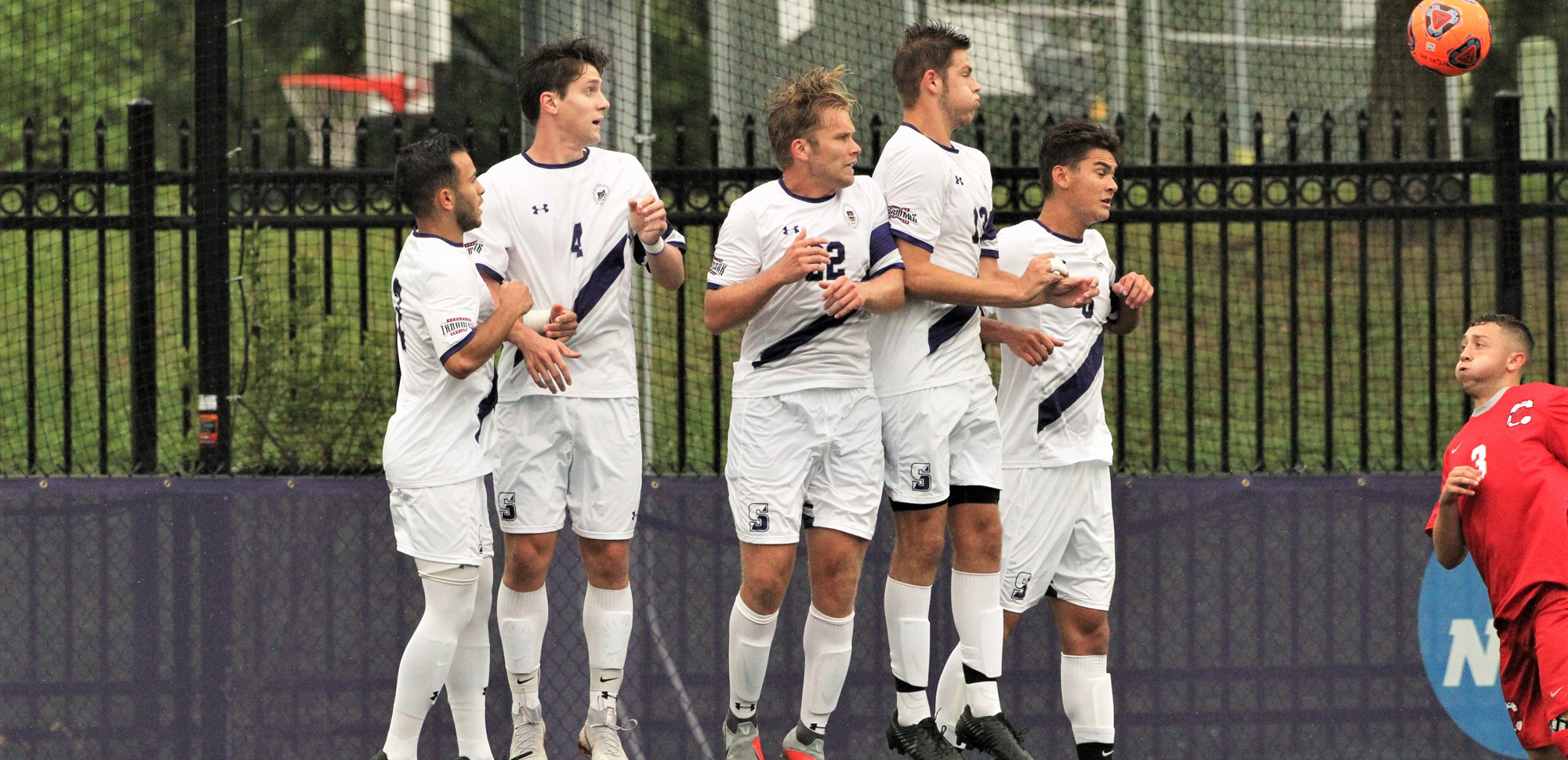 The men's soccer team suffered its first setback of the season on Saturday to Cortland.