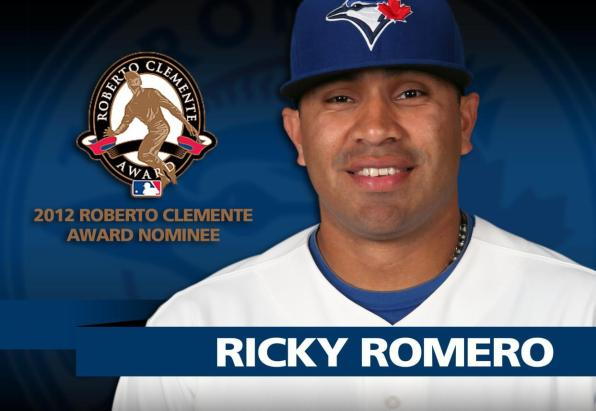 Former Titan Ace Romero Up for Clemente Award for Second Year in a Row