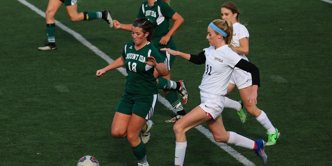 Second Half Sends Simmons Past Women's Soccer, 2-1