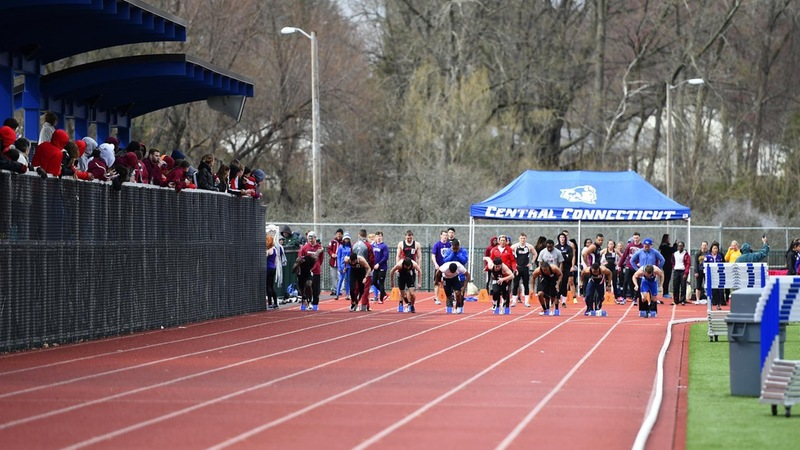 Men's Track Opens Outdoor Season at Bryant Black and Gold Invitational