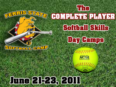 Ferris State Softball Skills Day Camp June 21-23