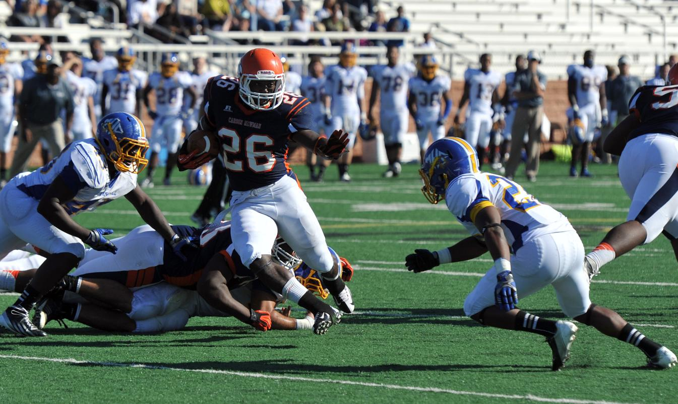 Carson-Newman mauls Mars Hill 35-17 on senior day, puts itself in position for playoffs