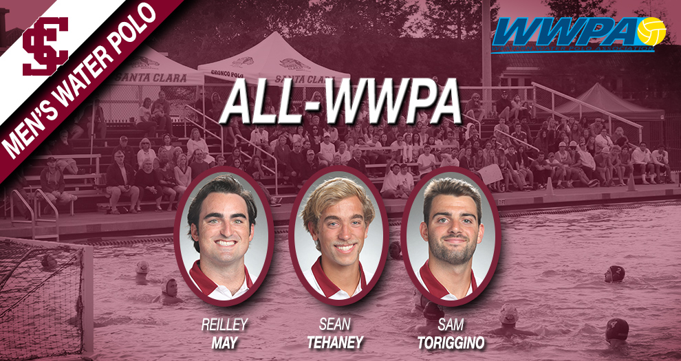 Three Players Earn Western Water Polo Association Honors