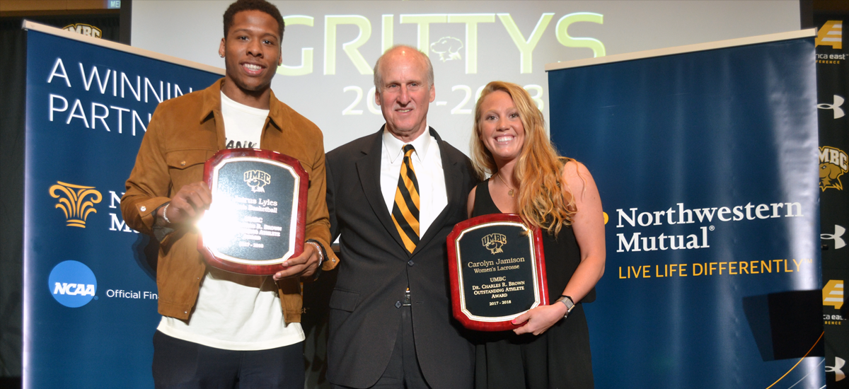 UMBC Athletics Honors Student-Athletes at 2018 Grittys