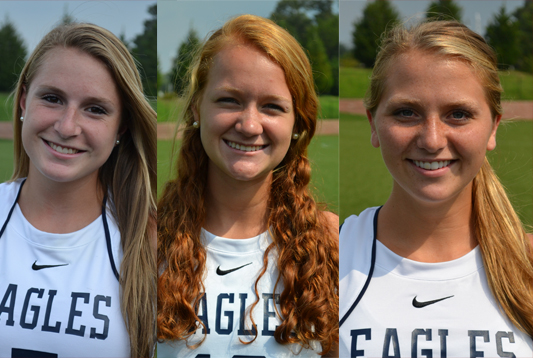 UMW's Baker, Steele, and Kane Named to VaSID All-State Field Hockey First Team