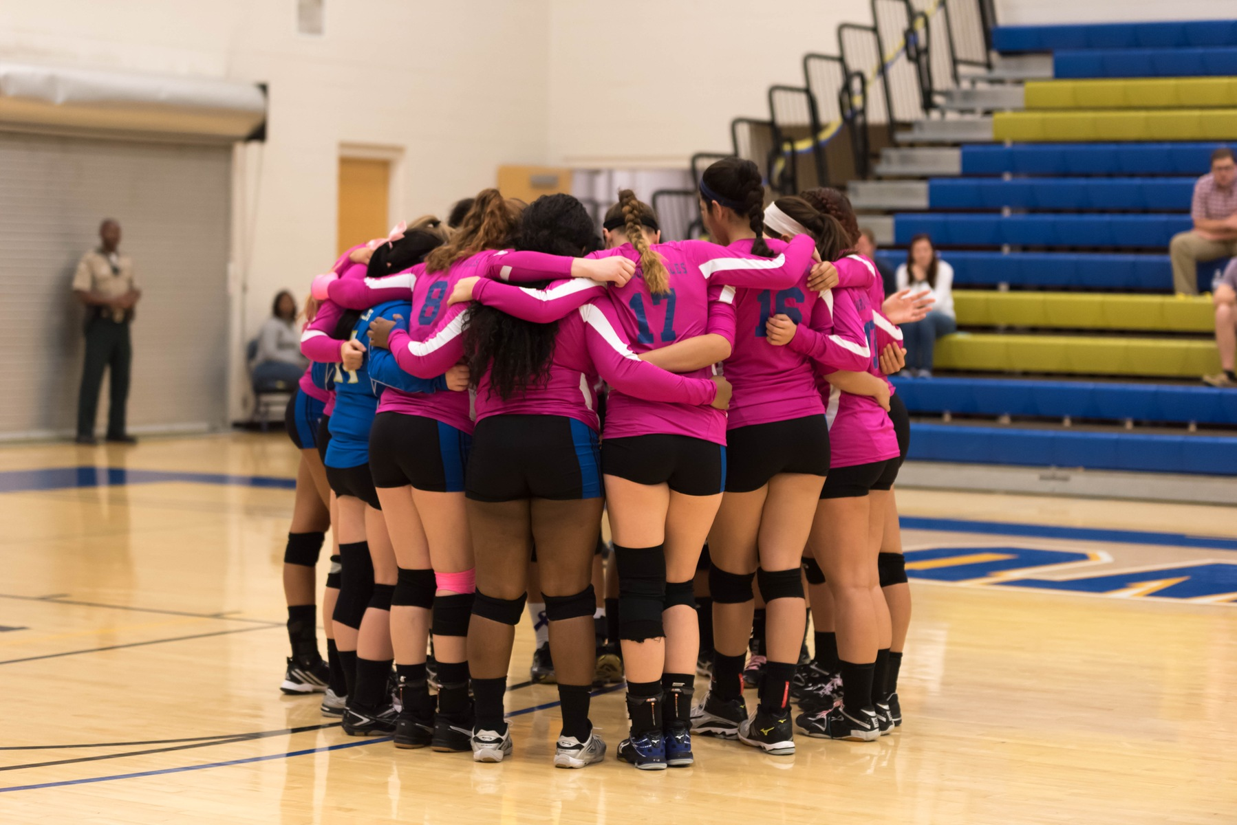 Join JWU Volleyball for Family Night/Dig Pink Night