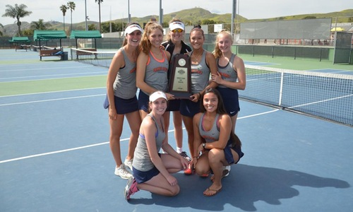 Pirates capture state women's tennis title with 5-4 win over De Anza