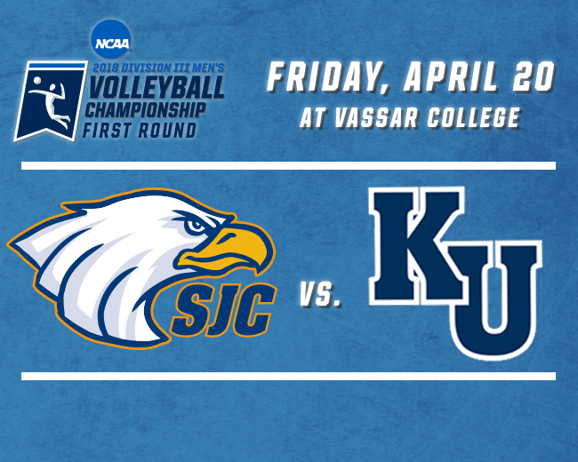Men's Volleyball Draws Kean in NCAA Tournament First Round
