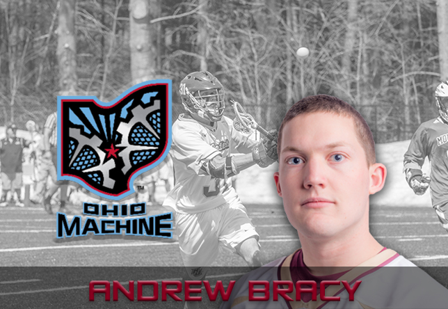 Men's Lacrosse: Bracy signs on with Ohio Machine of MLL