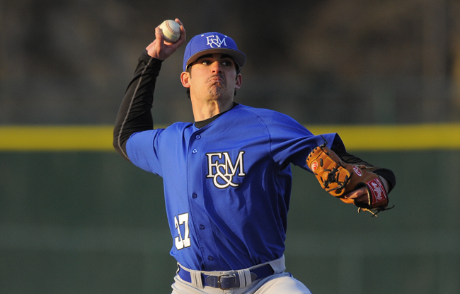 Giulio Named CC Pitcher of the Week