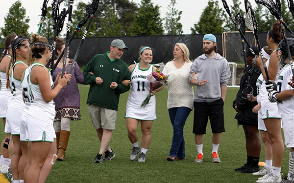 LeBrun Collects 100 Career Points on Senior Day as Wilmington Women's Lacrosse Picks Up 18-12 CACC Victory over Post