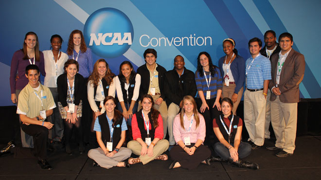From the eyes of a SCAC Student-Athlete - the 2012 NCAA Convention