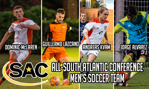 Four Pioneers tabbed to All-SAC Men's Soccer Team