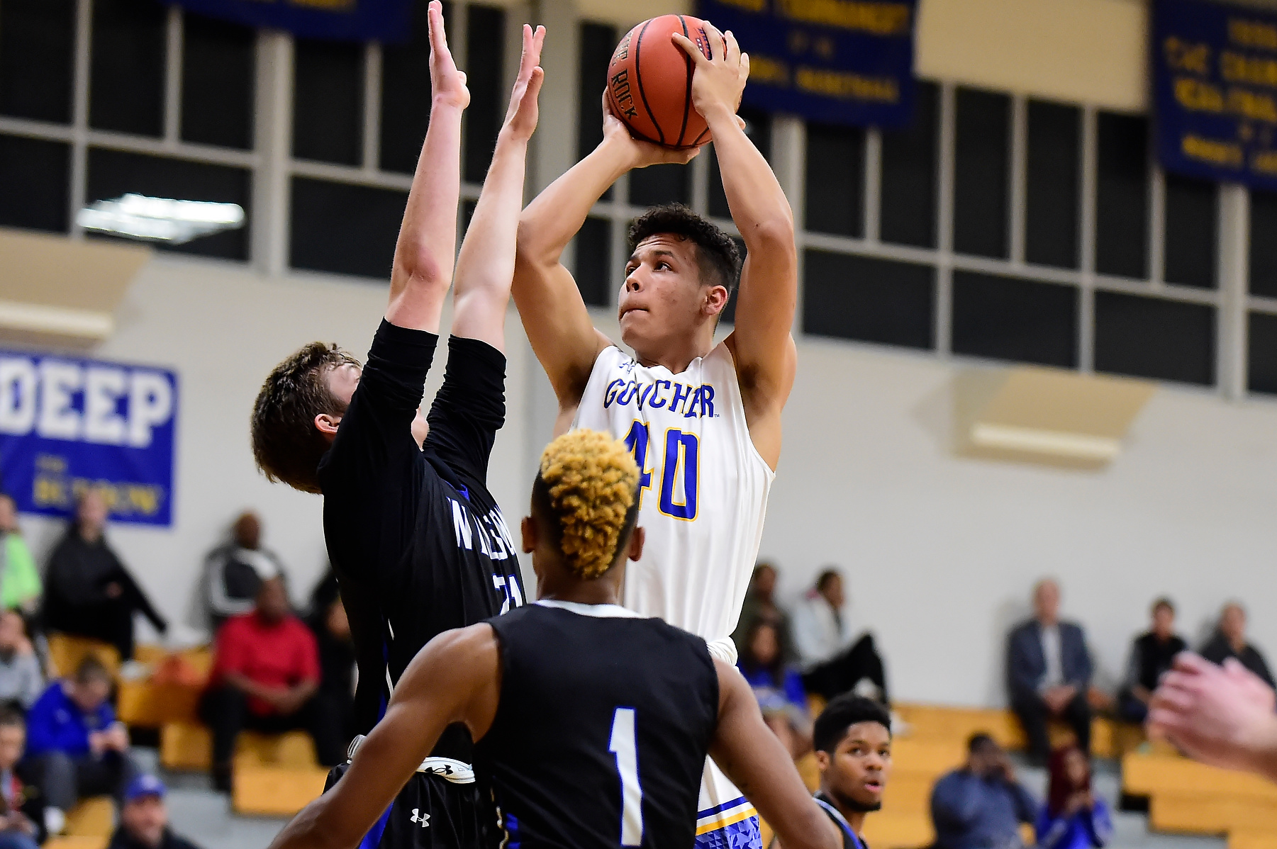 Men's Basketball Stymied in Loss to Washington College at Home